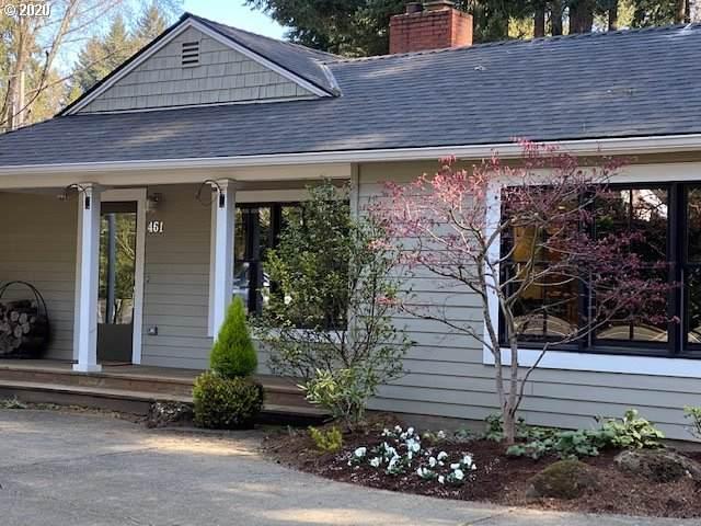 461 Country Club Rd, Lake Oswego, OR 97034 (MLS #20674889) :: Homehelper Consultants