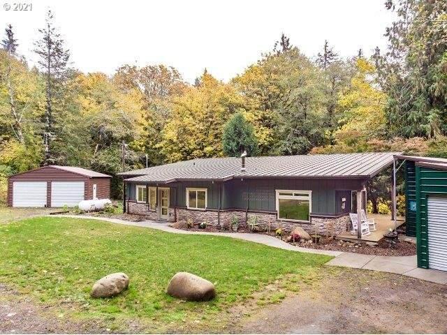 1162 N Slick Rock Creek Rd, Otis, OR 97368 (MLS #21142785) :: Real Estate by Wesley