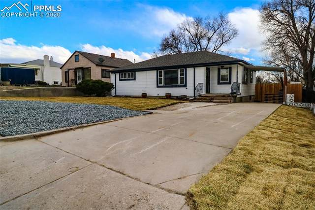 709 E Fountain Boulevard, Colorado Springs, CO 80903 (#1008788) :: The Daniels Team
