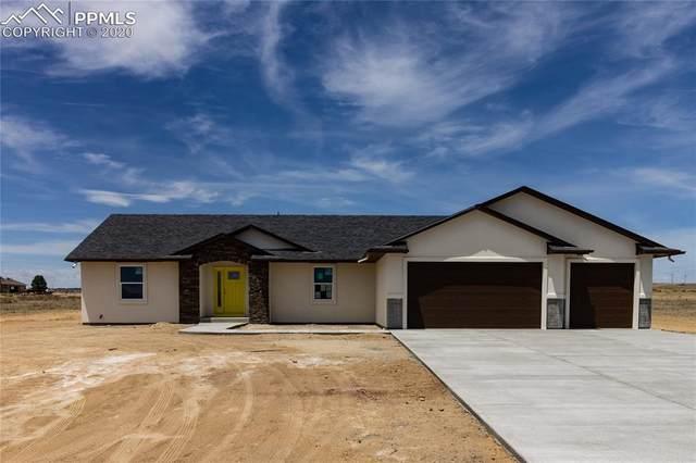 1223 E Onizuka Lane, Pueblo West, CO 81007 (#1028405) :: Finch & Gable Real Estate Co.