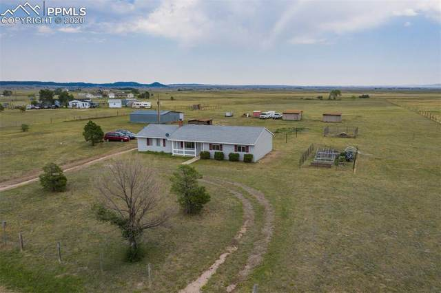 14005 Eastonville Road, Elbert, CO 80106 (#1035322) :: The Treasure Davis Team