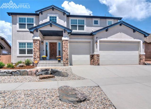 3024 Kettle Ridge Drive, Colorado Springs, CO 80908 (#1041773) :: The Hunstiger Team