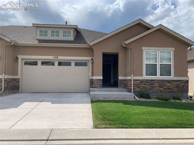 1418 Promontory Bluff View, Colorado Springs, CO 80921 (#1051842) :: Jason Daniels & Associates at RE/MAX Millennium