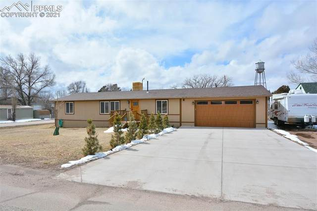 975 Golden Street, Calhan, CO 80808 (#1063537) :: Tommy Daly Home Team