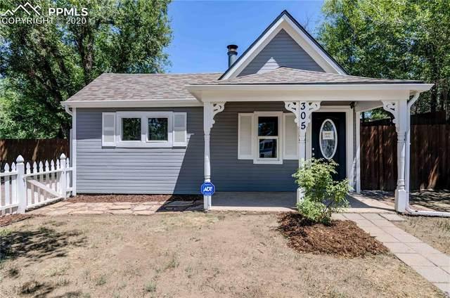 305 S Institute Street, Colorado Springs, CO 80903 (#1069424) :: The Kibler Group