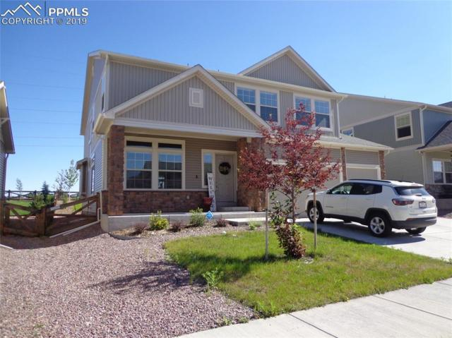 7226 Horizon Wood Lane, Colorado Springs, CO 80927 (#1074115) :: Action Team Realty