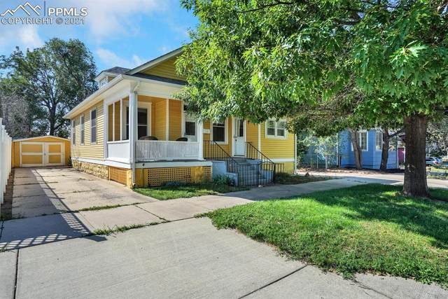 111 S 11th Street, Colorado Springs, CO 80904 (#1089775) :: Action Team Realty