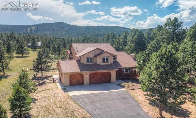 1260 Woodland Valley Ranch Drive, Woodland Park, CO 80863 (#1111048) :: 8z Real Estate