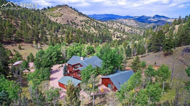3115 Highway 9 Highway, Guffey, CO 80820 (#1114310) :: The Hunstiger Team