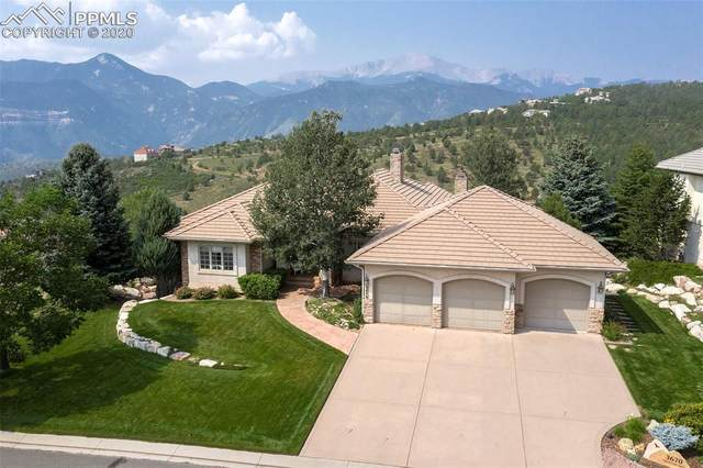3670 Twisted Oak Circle, Colorado Springs, CO 80904 (#1129419) :: The Treasure Davis Team