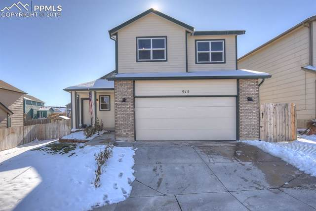 915 Lords Hill Drive, Fountain, CO 80817 (#1135614) :: The Kibler Group