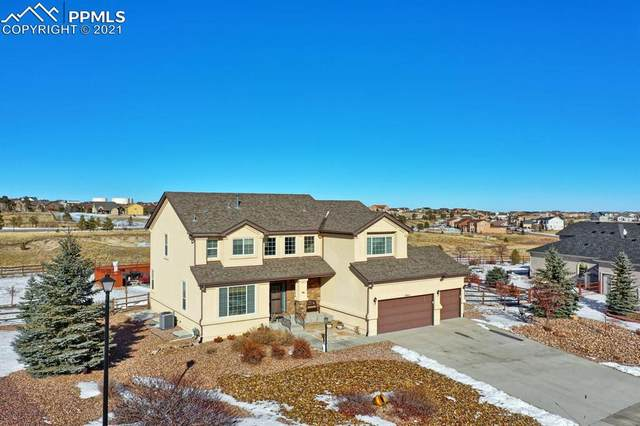 10951 Klondike Drive, Peyton, CO 80831 (#1165656) :: The Scott Futa Home Team