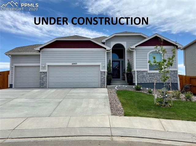 10444 Wrangell Circle, Colorado Springs, CO 80924 (#1169620) :: The Treasure Davis Team