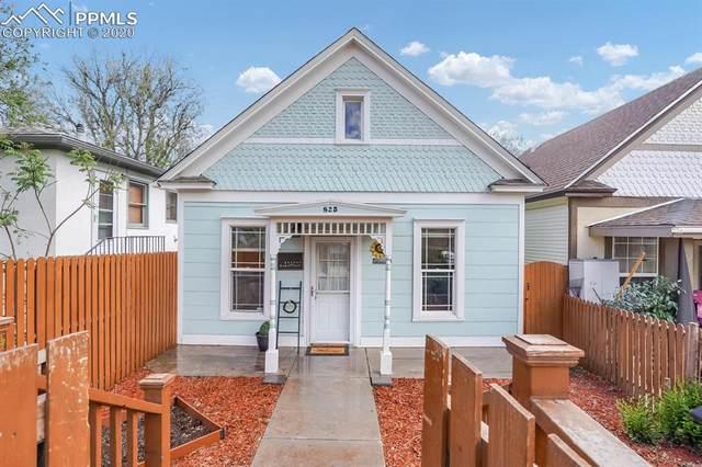 825 E Kiowa Street, Colorado Springs, CO 80903 (#1177143) :: The Kibler Group