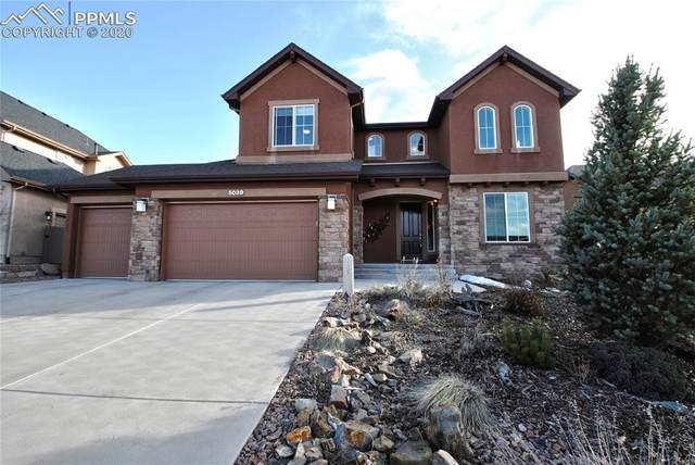 5039 Gibson Lake Court, Colorado Springs, CO 80924 (#1178293) :: The Treasure Davis Team
