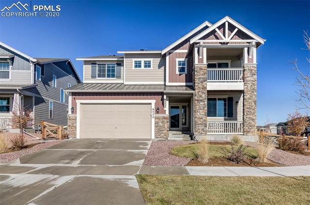 8422 Crooked Branch Lane, Colorado Springs, CO 80927 (#1186227) :: The Kibler Group
