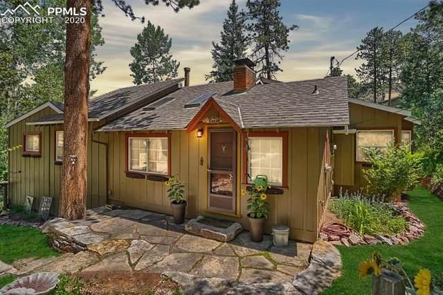 9590 Mountain Road, Cascade, CO 80809 (#1188042) :: The Treasure Davis Team