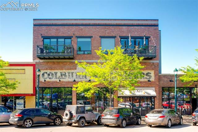 117 E Bijou Street #200, Colorado Springs, CO 80903 (#1192894) :: Venterra Real Estate LLC