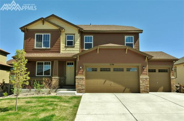 7139 Mountain Spruce Drive, Colorado Springs, CO 80927 (#1204433) :: The Peak Properties Group