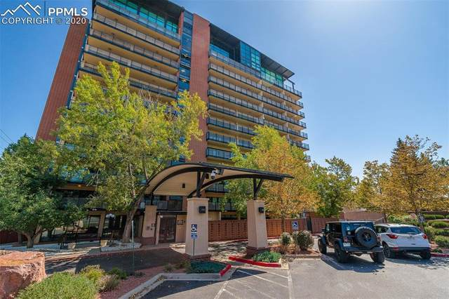417 E Kiowa Street #406, Colorado Springs, CO 80903 (#1209250) :: Finch & Gable Real Estate Co.