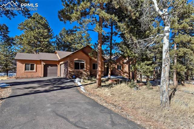 200 Wildrose Court, Woodland Park, CO 80863 (#1212347) :: The Treasure Davis Team
