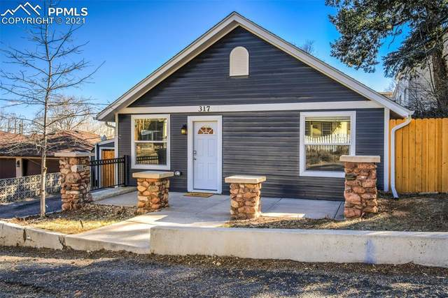 317 Pawnee Avenue, Manitou Springs, CO 80829 (#1213873) :: Action Team Realty
