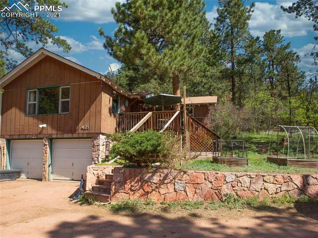 423 Crystola Canyon Road, Woodland Park, CO 80863 (#1214288) :: The Kibler Group