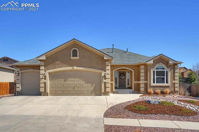 6725 Mustang Rim Drive, Colorado Springs, CO 80923 (#1232528) :: The Dixon Group