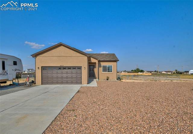 602 N Matt Drive, Pueblo West, CO 81007 (#1253745) :: Action Team Realty