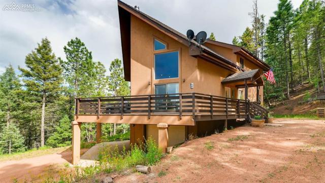420 Summer Haven Drive, Woodland Park, CO 80863 (#1256713) :: Jason Daniels & Associates at RE/MAX Millennium