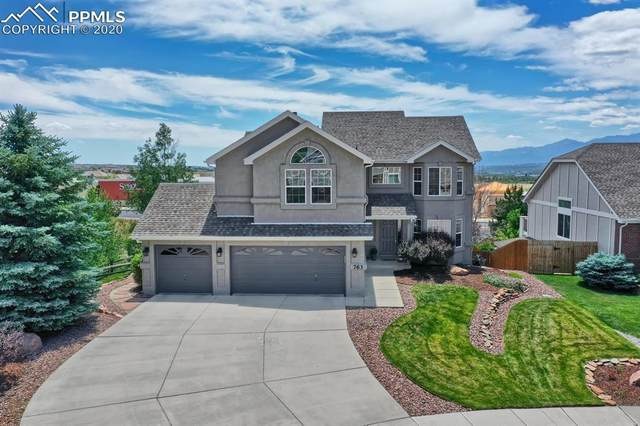 763 Fox Run Circle, Colorado Springs, CO 80921 (#1273903) :: Tommy Daly Home Team