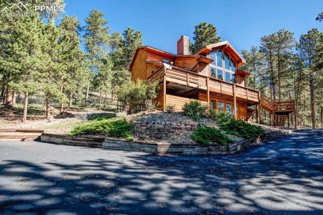 1260 Ponderosa Way, Woodland Park, CO 80863 (#1277935) :: The Treasure Davis Team