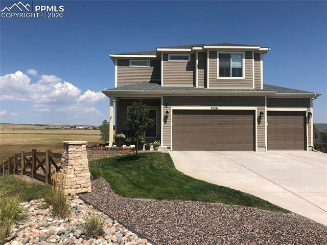 9126 Pacific Crest Drive, Colorado Springs, CO 80927 (#1283620) :: Finch & Gable Real Estate Co.
