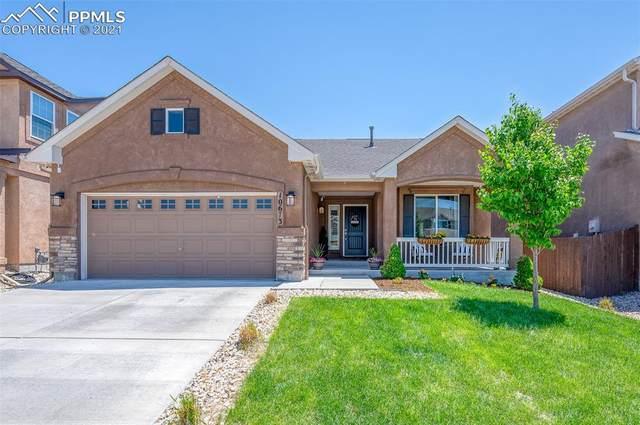 10673 Echo Canyon Drive, Colorado Springs, CO 80908 (#1310467) :: The Kibler Group