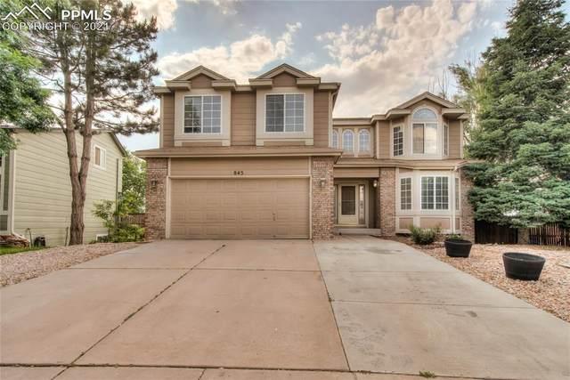 845 Piros Drive, Colorado Springs, CO 80922 (#1327792) :: Tommy Daly Home Team