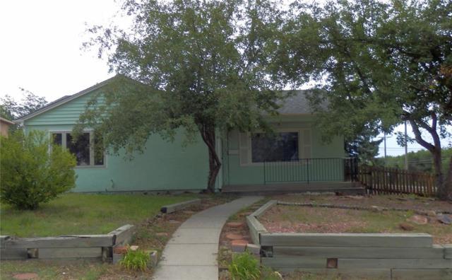 2215 Logan Avenue, Colorado Springs, CO 80907 (#1344626) :: Jason Daniels & Associates at RE/MAX Millennium