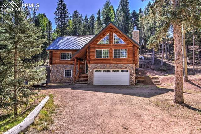 448 Pinon Lake Drive, Divide, CO 80814 (#1349580) :: Tommy Daly Home Team