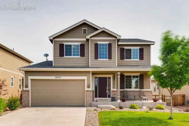 9773 Beryl Drive, Peyton, CO 80831 (#1382499) :: The Hunstiger Team