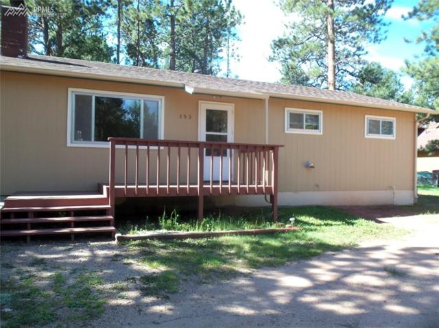 353 Wildflower Drive, Woodland Park, CO 80863 (#1386142) :: 8z Real Estate
