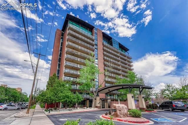 417 E Kiowa Street #305, Colorado Springs, CO 80903 (#1393137) :: Tommy Daly Home Team