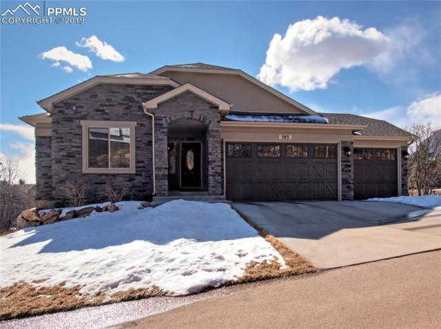 583 Mountain Pass View, Colorado Springs, CO 80906 (#1395700) :: The Hunstiger Team