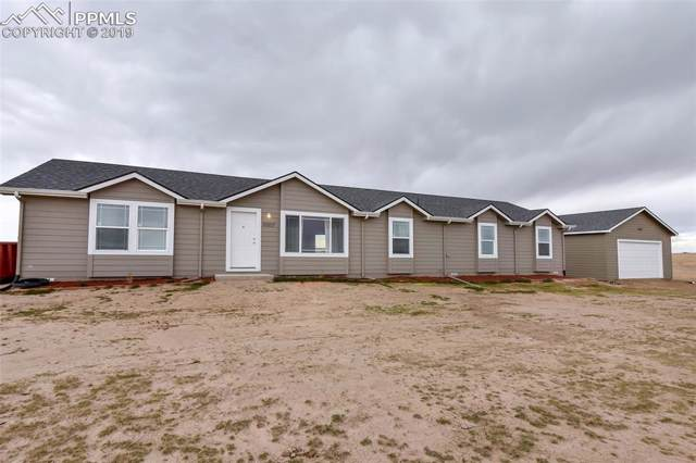 30207 Lonesome Dove Lane, Calhan, CO 80808 (#1397542) :: Tommy Daly Home Team