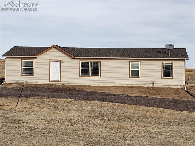 398 N Dinner Bell Drive, Calhan, CO 80808 (#1404928) :: Tommy Daly Home Team