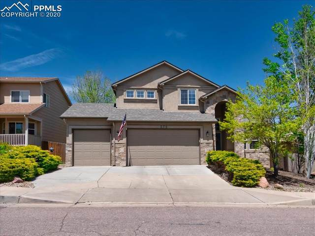 376 Pyrite Terrace, Colorado Springs, CO 80905 (#1454134) :: Fisk Team, RE/MAX Properties, Inc.