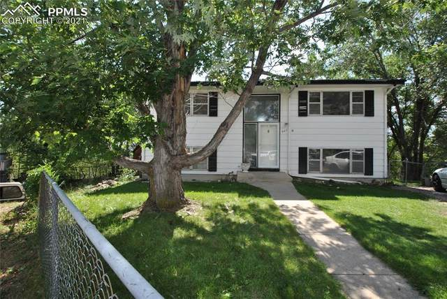 907 W Madison Street, Colorado Springs, CO 80907 (#1460789) :: Tommy Daly Home Team