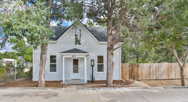 817 N Spruce Street, Colorado Springs, CO 80905 (#1462243) :: RE/MAX Advantage