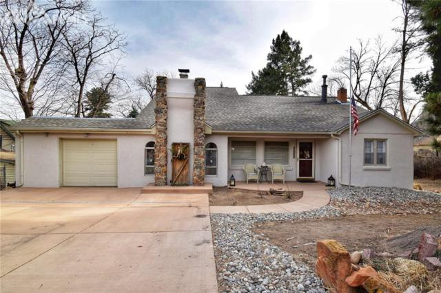 1609 W Cheyenne Boulevard, Colorado Springs, CO 80906 (#1504066) :: RE/MAX Advantage