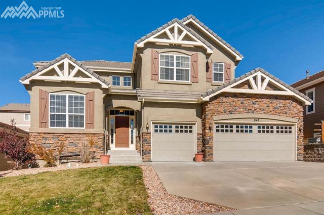 848 Altamont Ridge Drive, Colorado Springs, CO 80921 (#1508513) :: Jason Daniels & Associates at RE/MAX Millennium