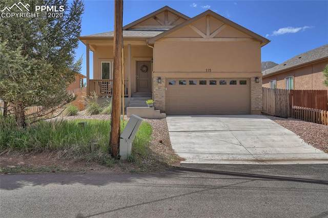 115 Greeley Boulevard, Palmer Lake, CO 80133 (#1548985) :: The Treasure Davis Team