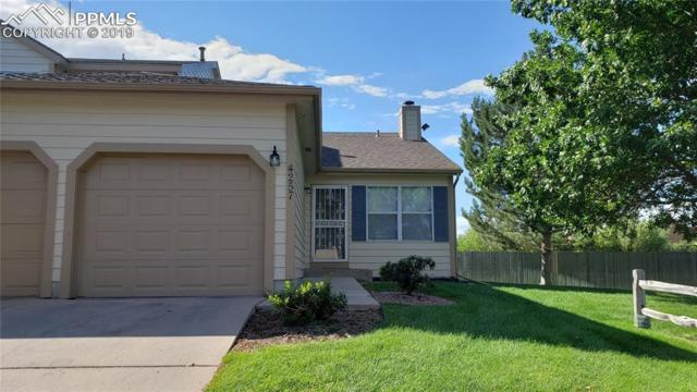 4257 Hunting Meadows Circle, Colorado Springs, CO 80916 (#1552637) :: Tommy Daly Home Team